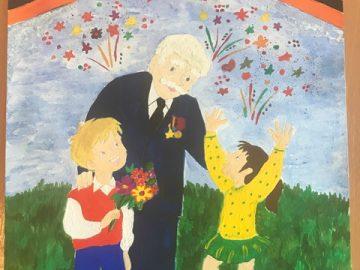 Рисунок кДню Победы Рощина Олеся 6И
